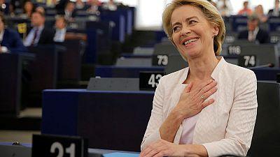 EU parliament confirms von der Leyen as next executive head