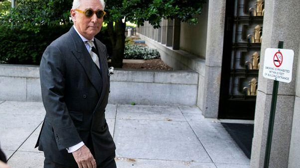 U.S. judge bans Trump ex-adviser Stone from making social media posts