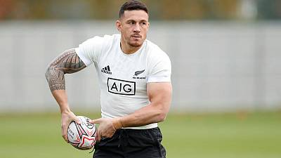 Williams doubtful for Saturday's Argentina test