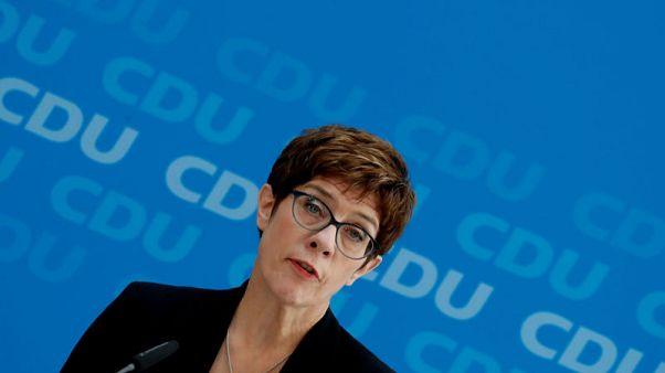 German Conservative boss to succeed von der Leyen as minister - source