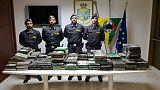Sequestro 270 kg coca in porto G.Tauro