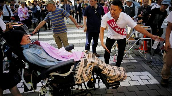 Japan disabled challenge stigma, barriers to run for upper house seat