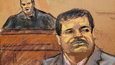 U.S. judge blasts drug lord El Chapo's 'overwhelming evil,' imposes life sentence