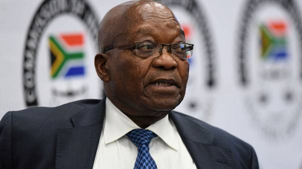 South Africa's Zuma denies interfering with Transnet CEO appointment