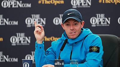 McIlroy sees Open as sign of Northern Ireland's progress