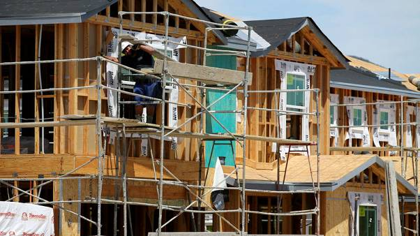 U.S. housing starts fall further; permits at two-year low