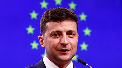Ukraine's Russian-speaking president gives glimmer of hope to war-torn east