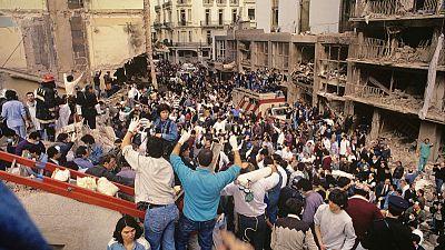 Argentine photo exhibit stirs memories of 1994 bombing attack on Jewish centre