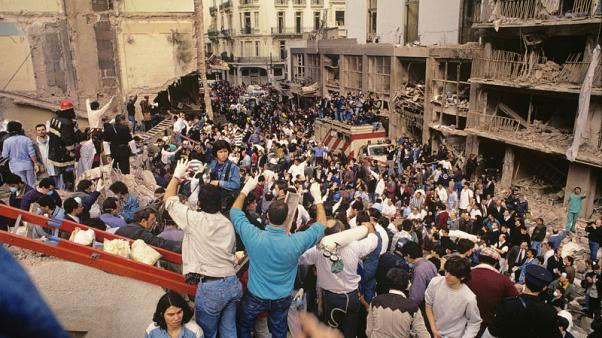 Argentine photo exhibit stirs memories of 1994 bombing attack on Jewish centre