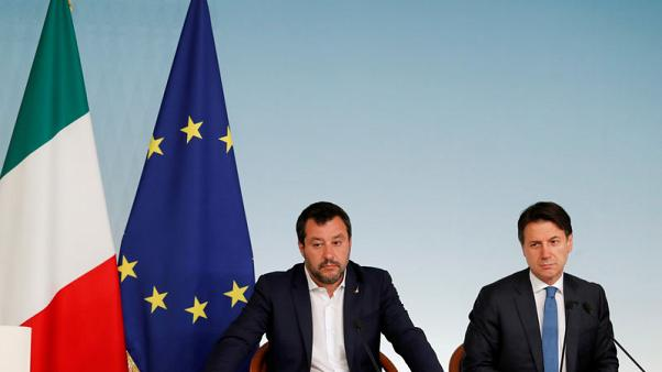 Italy's populist coalition clashes over EU Commission election