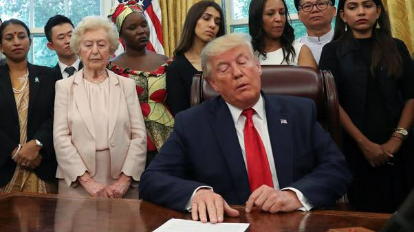 Trump meets Chinese Uighur, other religious persecution victims at White House