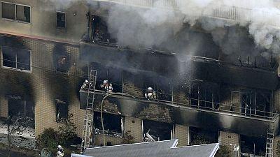 مخاوف من مقتل 23 شخصا في حريق باستوديو رسوم متحركة باليابان