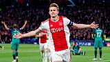 Juventus snare De Ligt from Ajax for 75 million euros