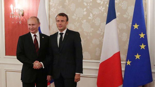 Russia's Putin, France's Macron discuss Iran nuclear deal - Kremlin