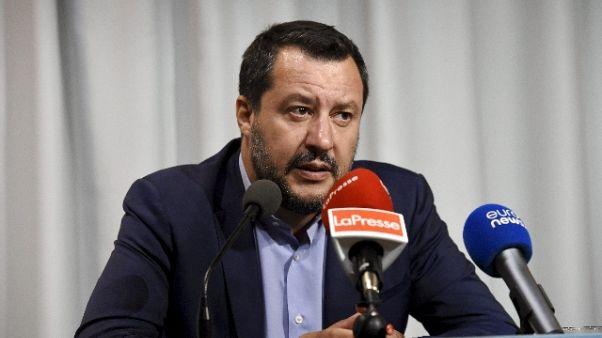 Ue: Salvini, 5S al governo con Pd