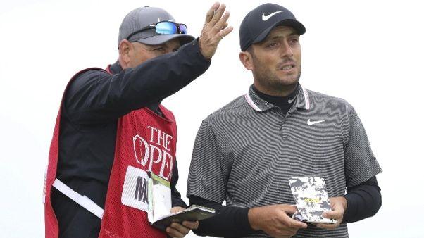 Golf: The Open,Molinari,inizio non buono