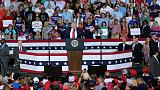 'Send her back' chant at Trump rally catches Republicans off guard