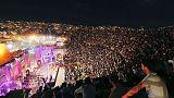 مهرجان جرش للثقافة والفنون بالأردن يوقد شعلته الرابعة والثلاثين