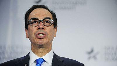 U.S.' Mnuchin sees some 'very good' European candidates to lead IMF