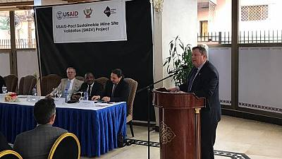 L'USAID finance un nouveau projet de validation de site minier artisanal