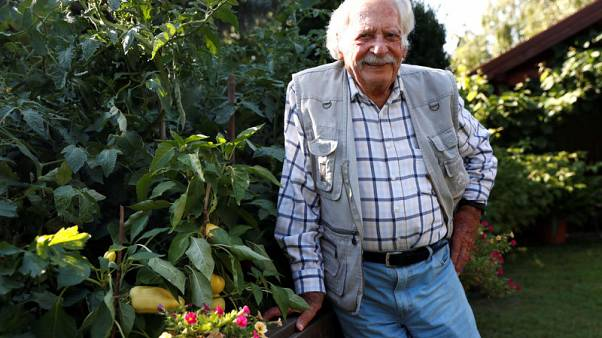 Hungary's favourite gardener still digging up new tips as he turns 100