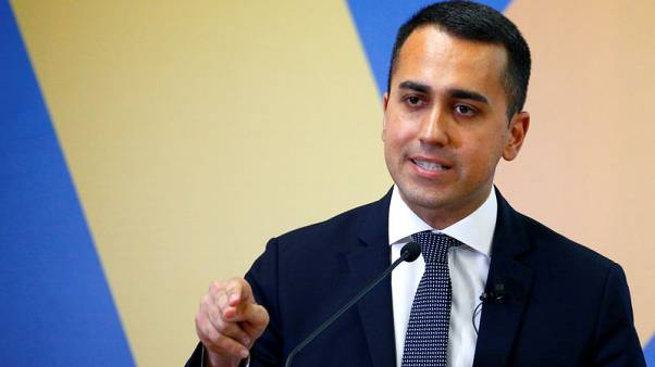Italy's Di Maio calls for meeting with Salvini in peace offering