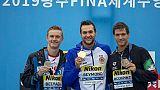 Nuoto:Mondiali,bronzo Occhipinti in 25km