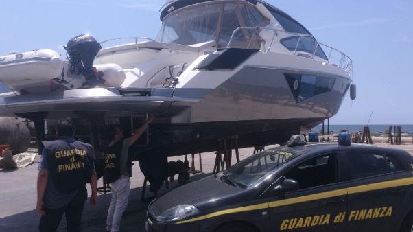 Yacht intestato a società bulgara