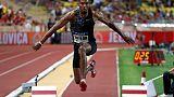 Athletics - Record consumed Taylor but still belongs to Edwards