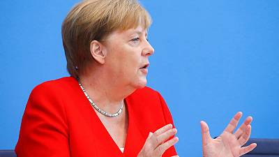 After shaking episodes, Germany's Merkel says she is fit for work