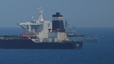 Gibraltar extends detention of Iranian tanker for a month