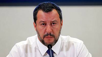 Italy's Salvini to see Di Maio with government's fate hanging in balance
