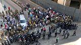 مشادات بين عسكريين متقاعدين لبنانيين وقوات الأمن احتجاجا على الميزانية