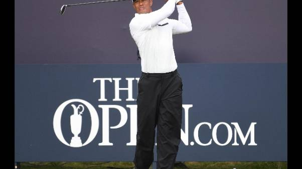 The Open, Woods verso l'eliminazione