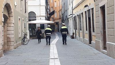 Multa per amaca:polizia, applicata legge