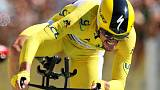 Alaphilippe beats Thomas in time trial to extend Tour lead