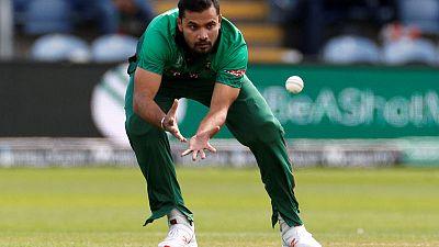 Bangladesh captain Mortaza out of Sri Lanka ODIs due to injury