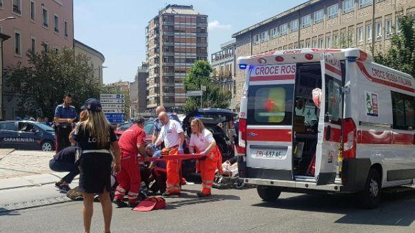 Carabiniere ferito,30 giorni di prognosi