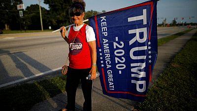 In battleground Florida, Republicans shrug off Trump's tweet 'kerfuffle'