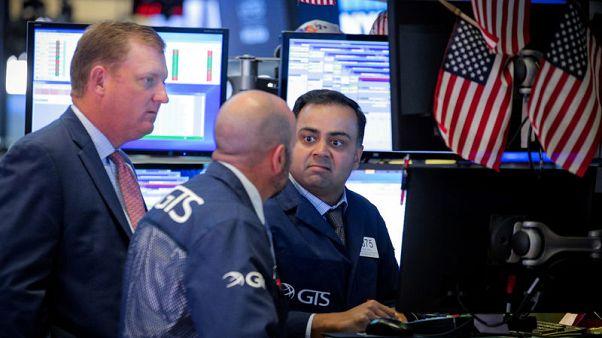 بورصة وول ستريت تغلق منخفضة مع انحسار التوقعات لخفض كبير للفائدة