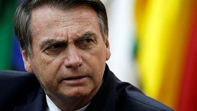 Brazil alerted companies about U.S. embargo on Iran - Bolsonaro