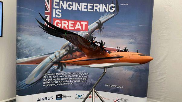 Airbus mimics nature with 'Bird of Prey' concept plane