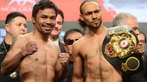 'Professor' Pacquiao vows to teach Thurman a lesson