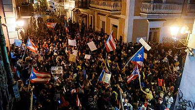 U.S. lawmakers demand Puerto Rico governor resign as protests roil island