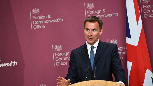 """وزير خارجية بريطانيا: إيران ربما تكون على """"طريق خطير"""" بعد احتجازها ناقلة"""