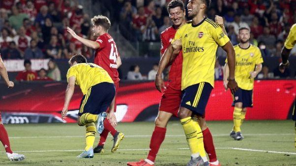 Icc: Arsenal-Bayern 2-1