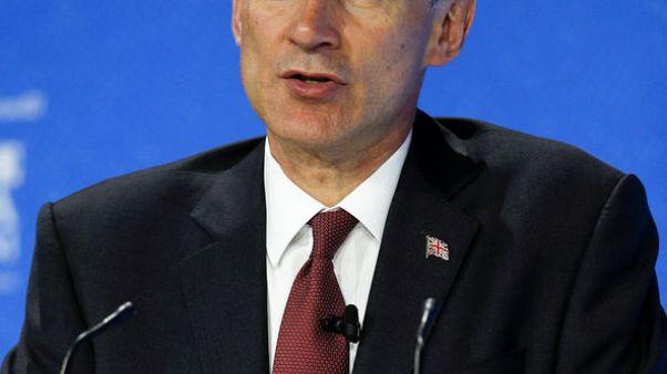 """وزير خارجية بريطانيا يعبر لنظيره الإيراني عن """"خيبة أمله"""" بشأن احتجاز الناقلة"""