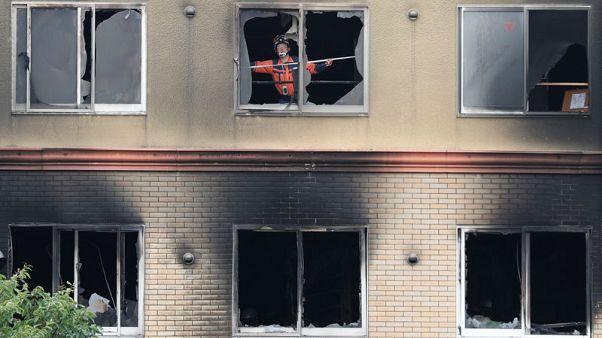اليابان تصدر أمر اعتقال لمشتبه به في حريق كيوتو