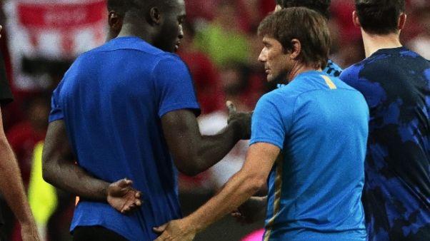 Inter:Conte, Lukaku? Vedremo con società