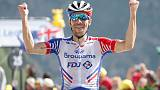 Pinot, Alaphilippe seal French one-two as Thomas loses ground
